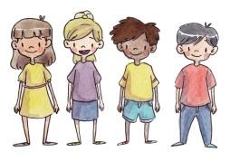children crop