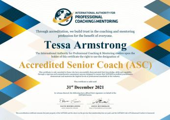 2021 IAPC&M ASC Tessa Armstrong